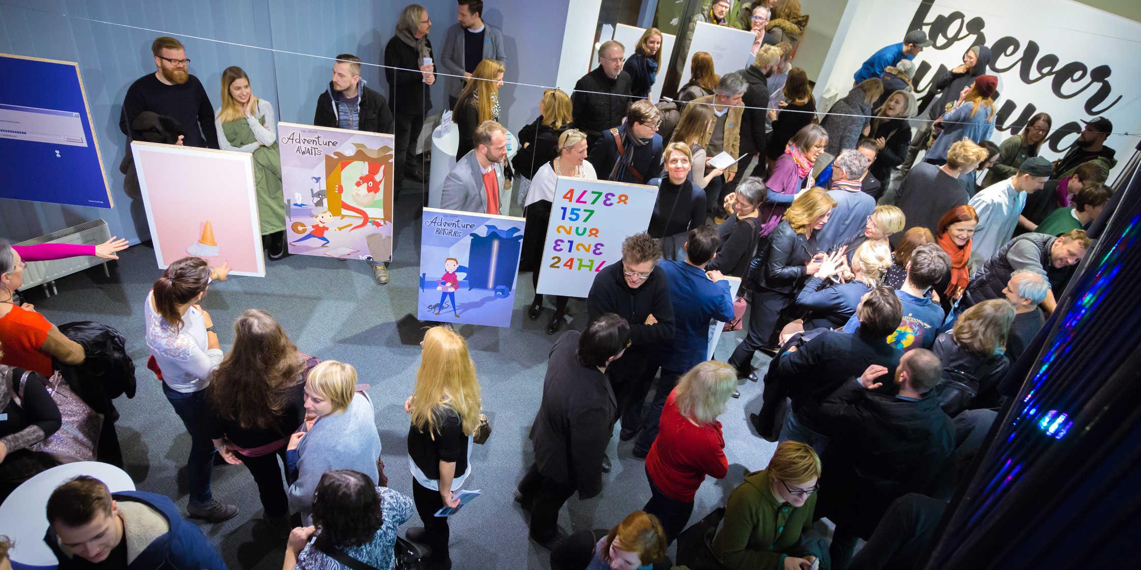 Bis 11. Februar sind die Plakate der Studierenden im designforum Steiermark zu sehen. (Foto: designforum)