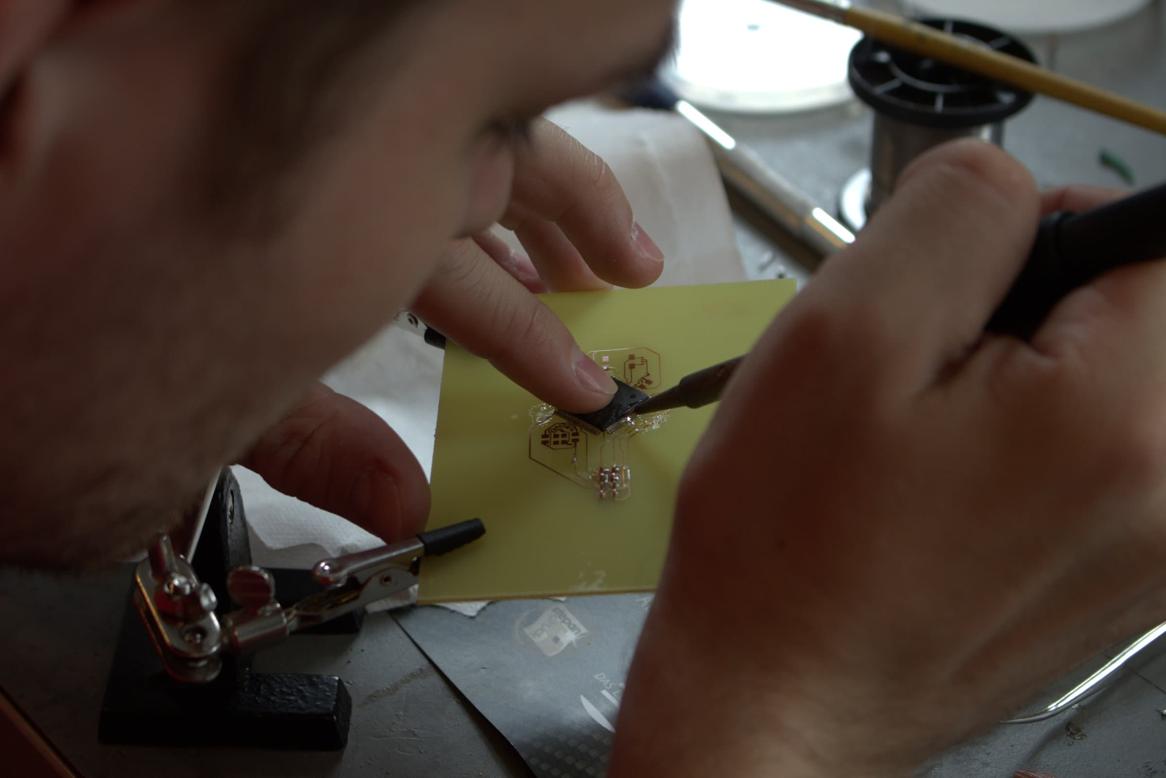In der Baugruppe Electrics ist Fingerspitzengefühl gefragt.