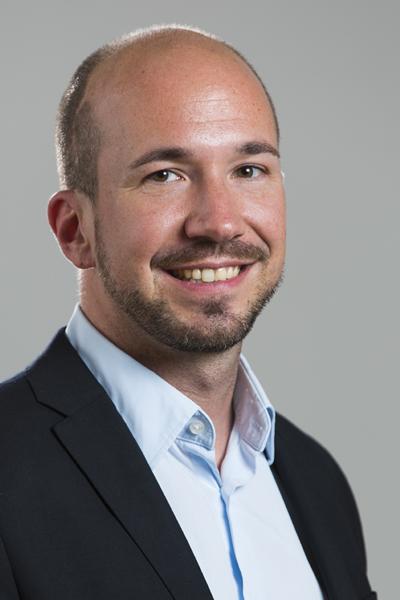 """DI (FH)  Hannes Moser, Senior Manager Digital Platform Solutions und Absolvent von """"Informationsmangement"""""""