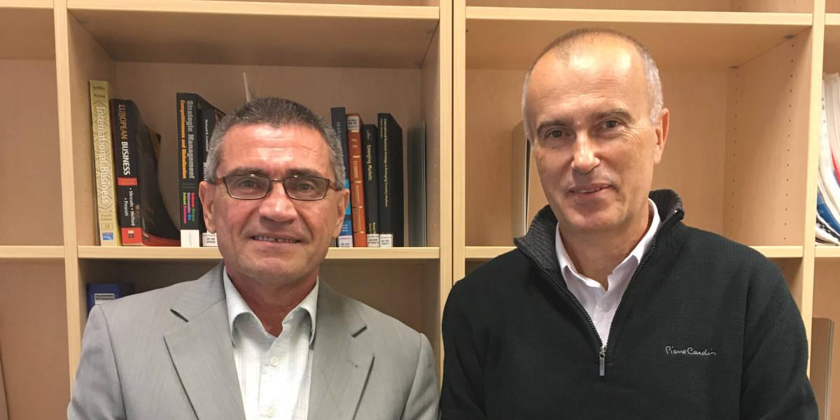 Foto Hazbo Skoko and Vito Bobek