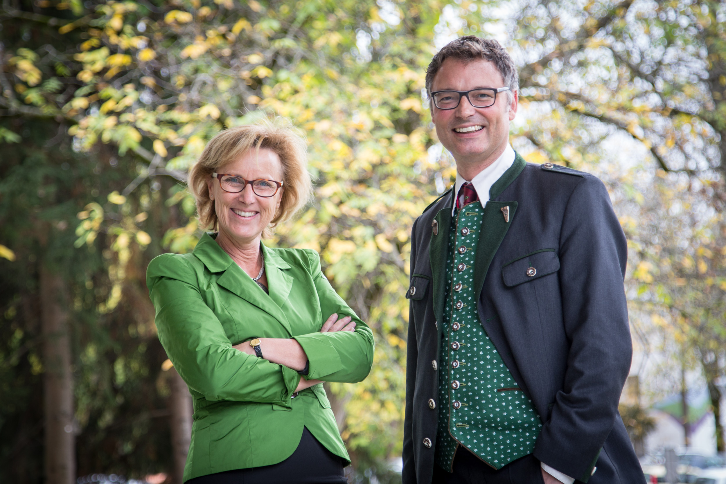 Sonja Gögele und Stefan Grünwald