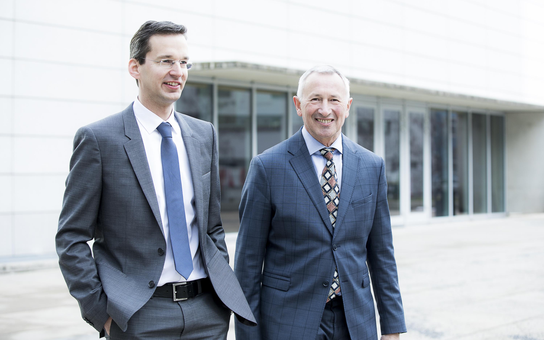 Porträt Martin Payer und Karl Peter Pfeiffer