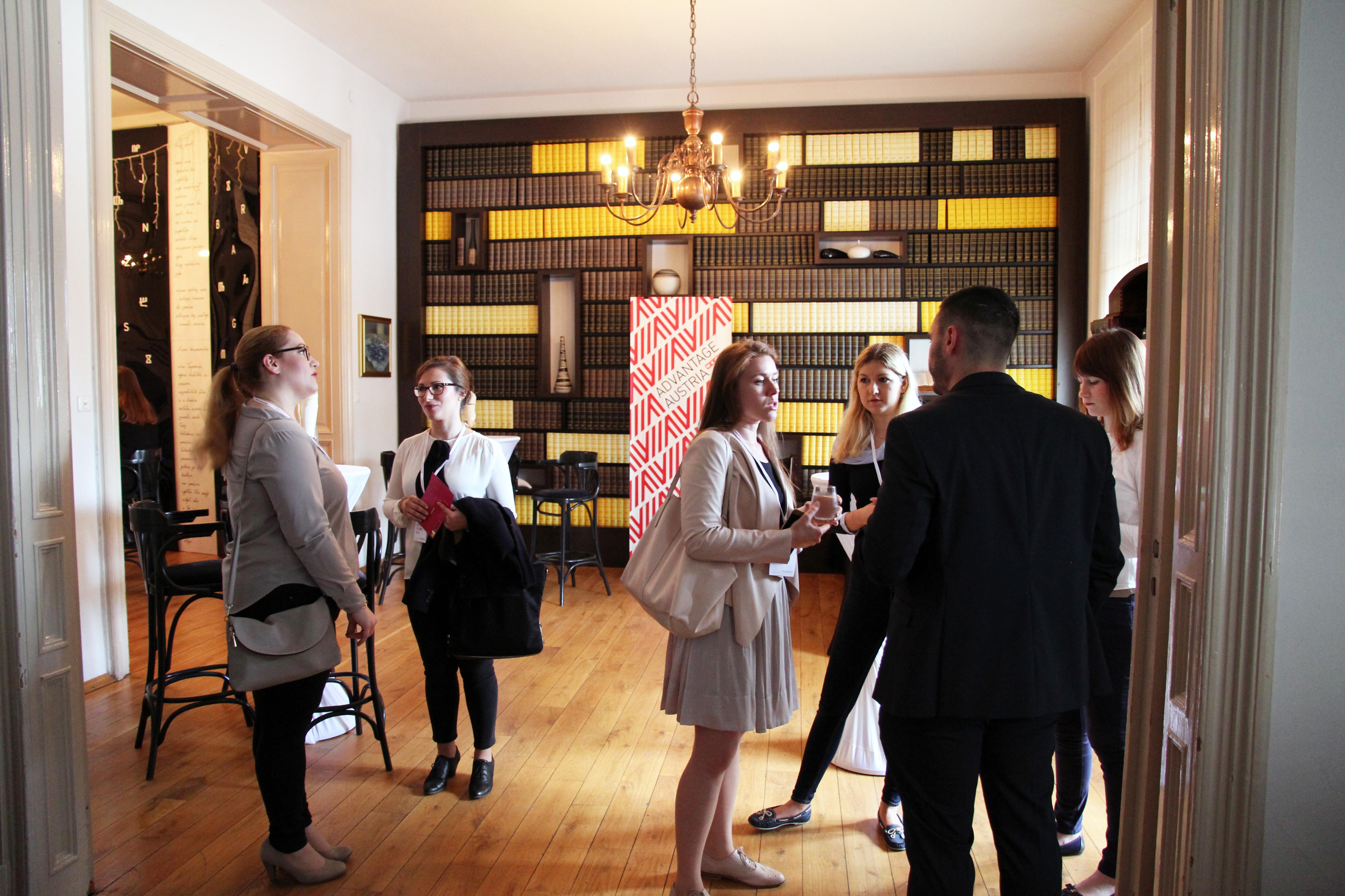 Vernetzung steht bei Chaptern im Mittelpunkt – eine erste Gelegenheit dazu gab es bei der feierlichen Eröffnung in Zagreb.