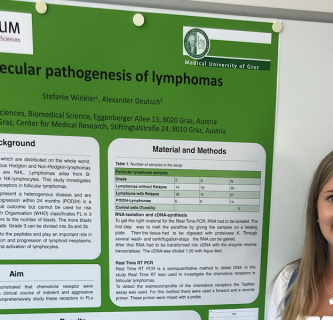 Young Investigator Award für Bachelorarbeit in der Lymphomforschung