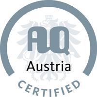 Zertifizierung durch Agentur für Qualitätssicherung und Akkreditierung Austria