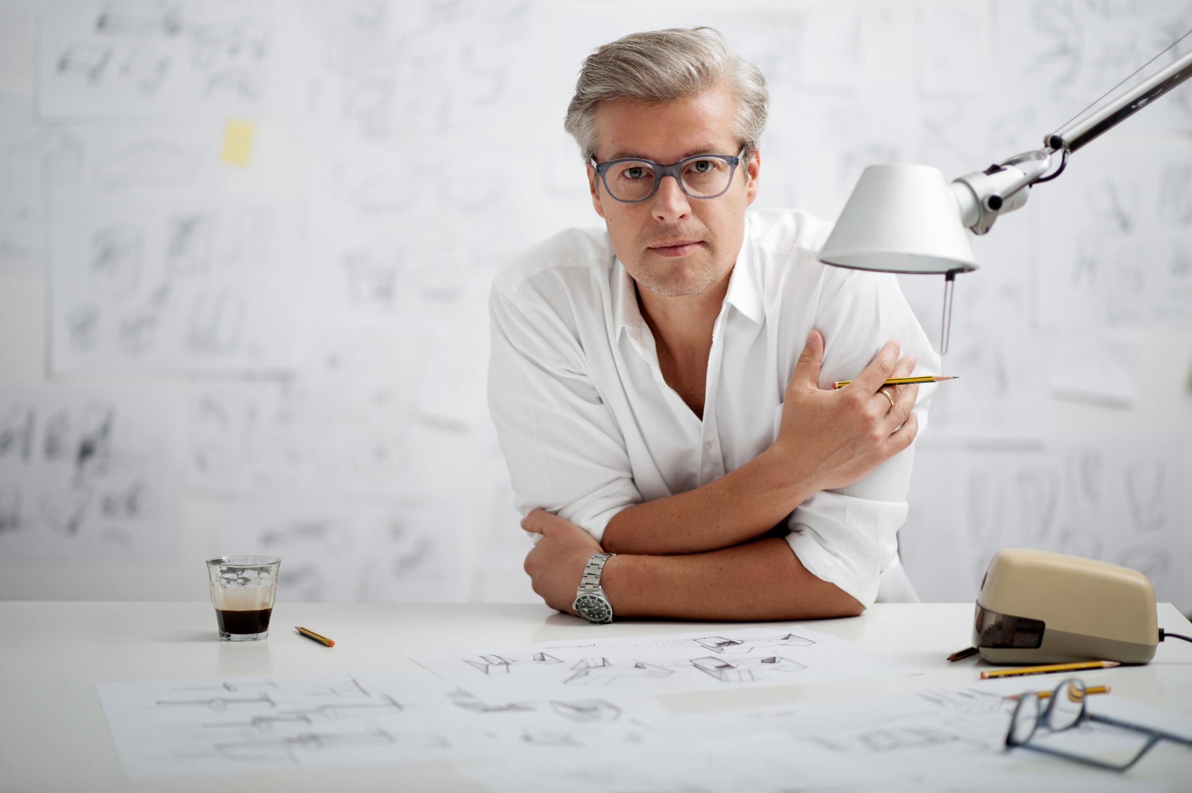 """Thomas Feichtner ist der neue Leiter des Bachelor- und Masterstudiengangs """"Industrial Design""""."""