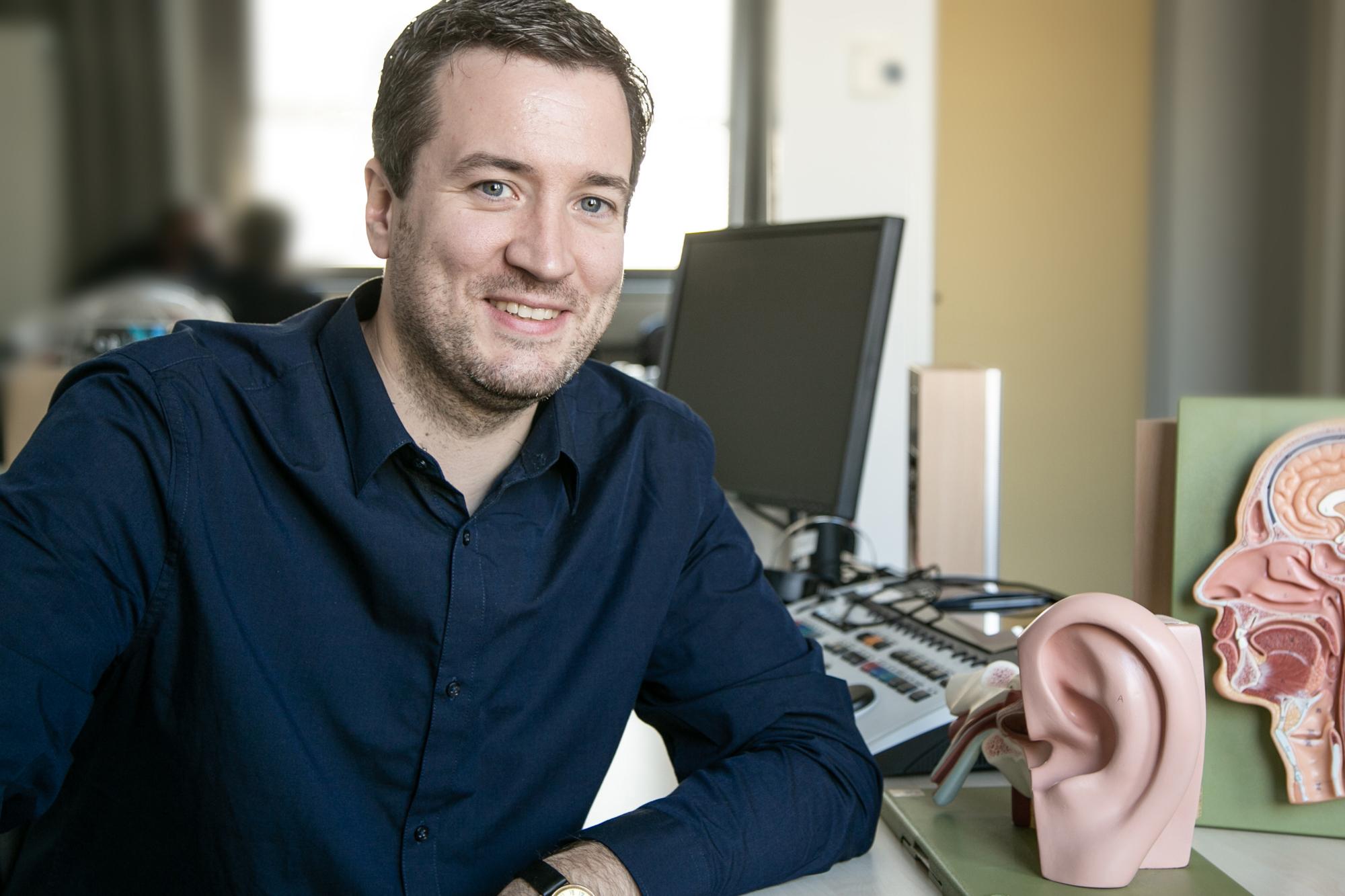 """Der neue Studiengangsleiter von """"Logopädie"""": Robert Darkow."""