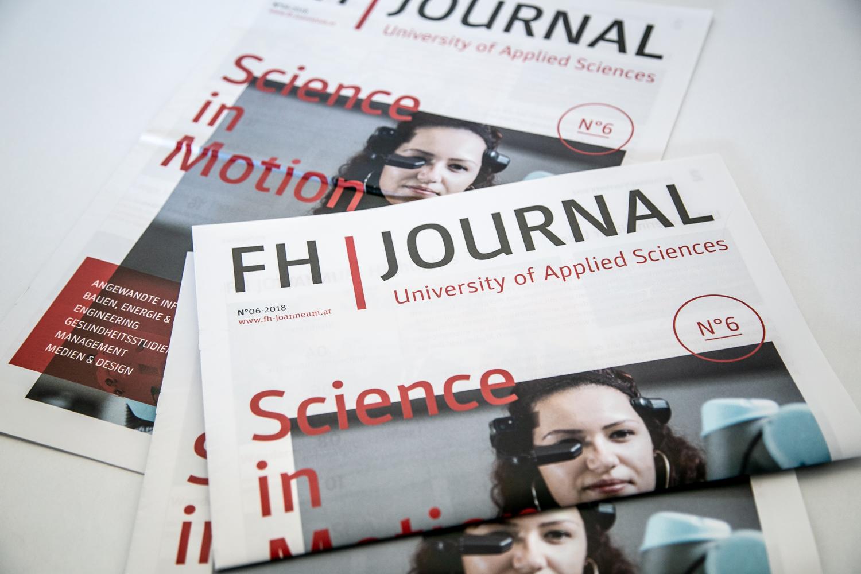 Die FH JOANNEUM zum Schmökern: das neue FH Journal.