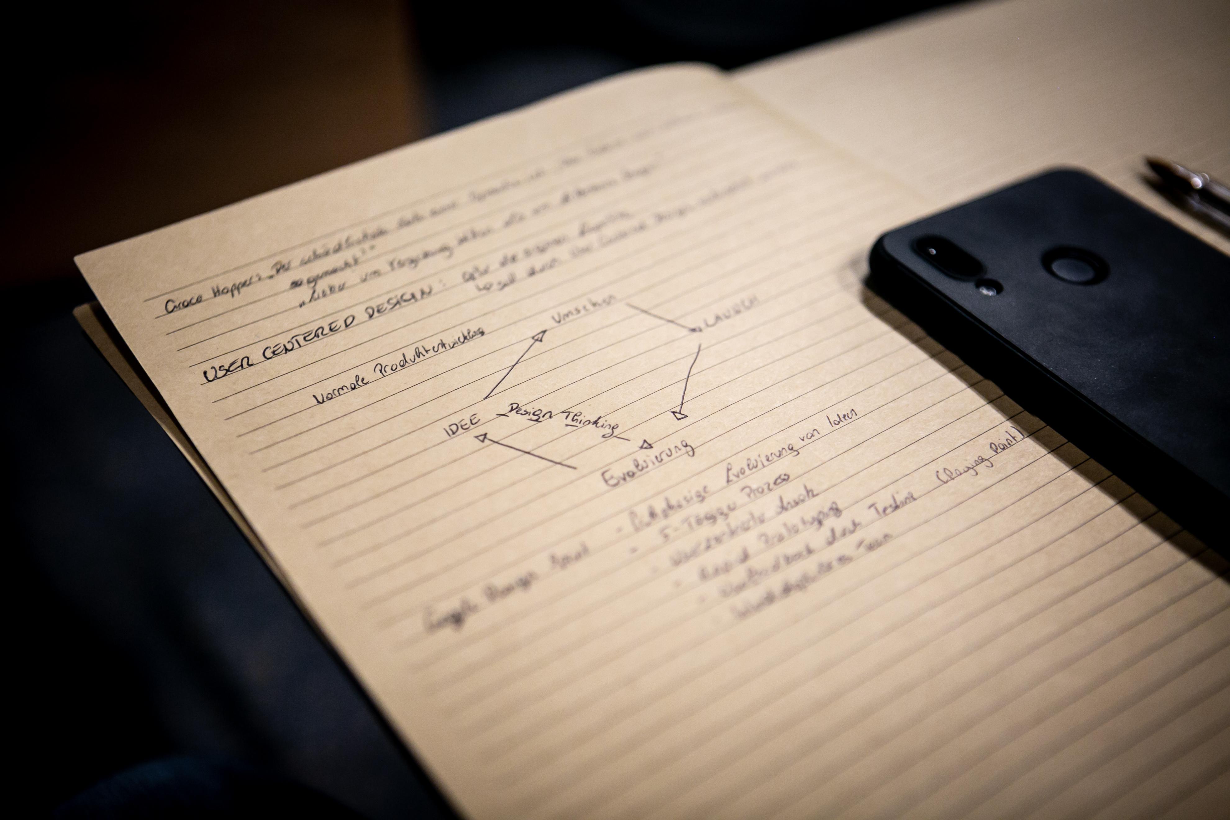 Design Thinking holt den Lerneffekt schon zu Beginn des Projekts.