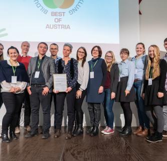 Best of Austria: Auszeichnung für YoungTECHforFOOD-Projekt