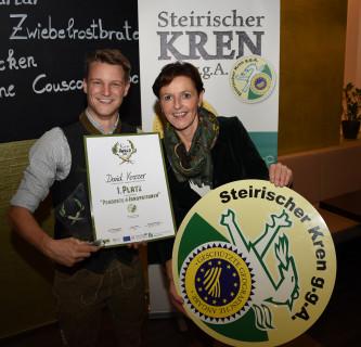 Erster steirischer Kren-Award für David Krasser