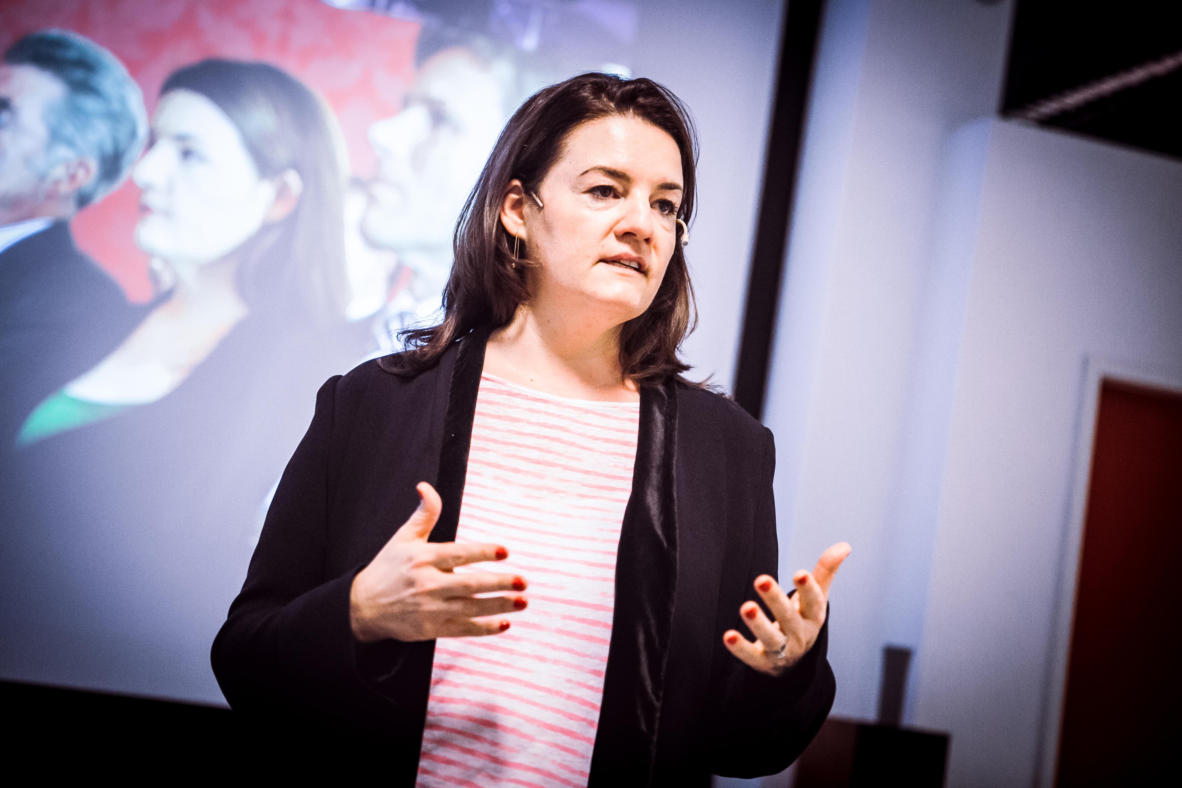 """""""Ganz offen gesagt""""-Mitbegründerin Eva Weissenberger."""