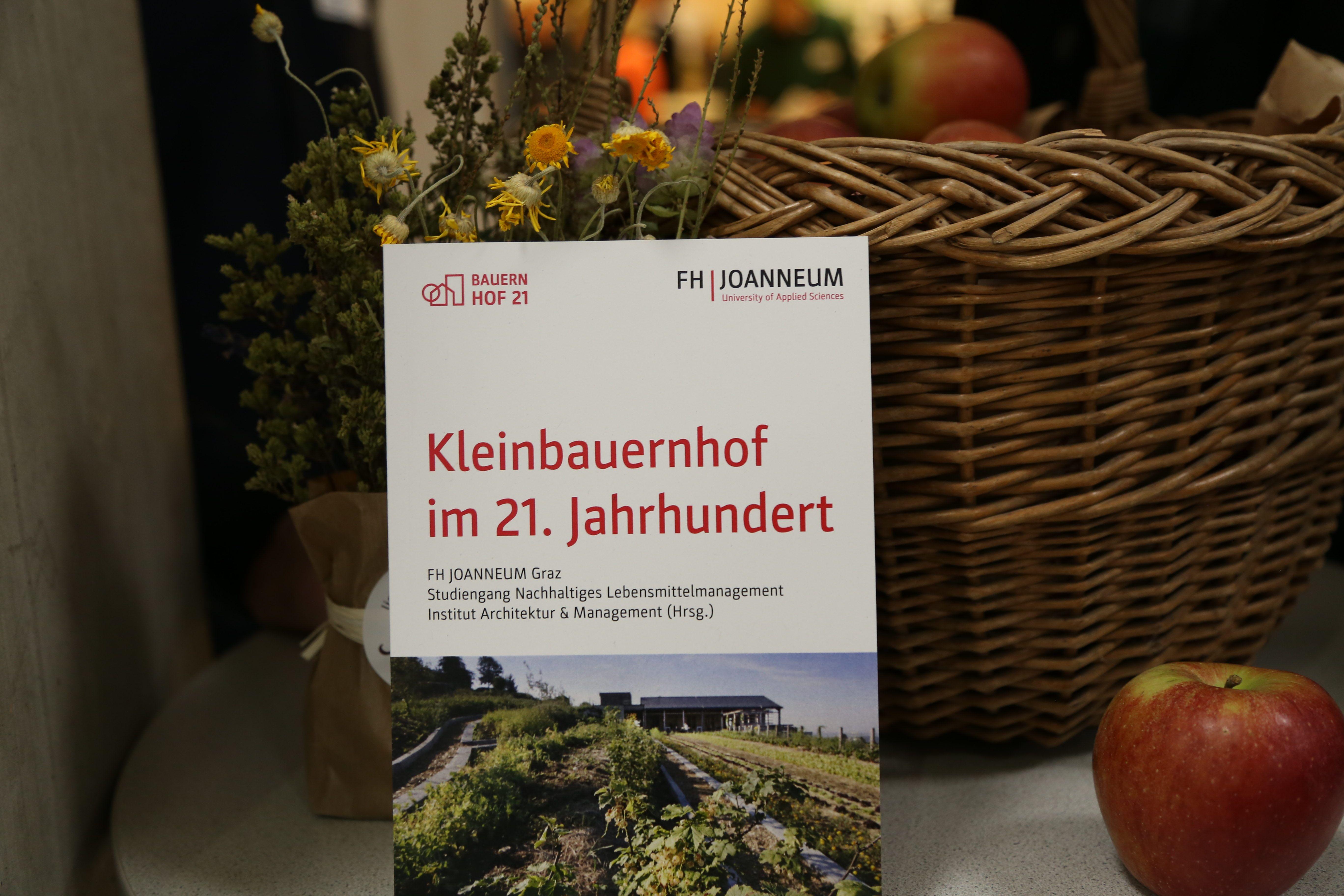 Die Struktur von Kleinbauernhöfen im 21. Jahrhundert stand im Mittelpunkt der Tagung an der FH JOANNEUM.