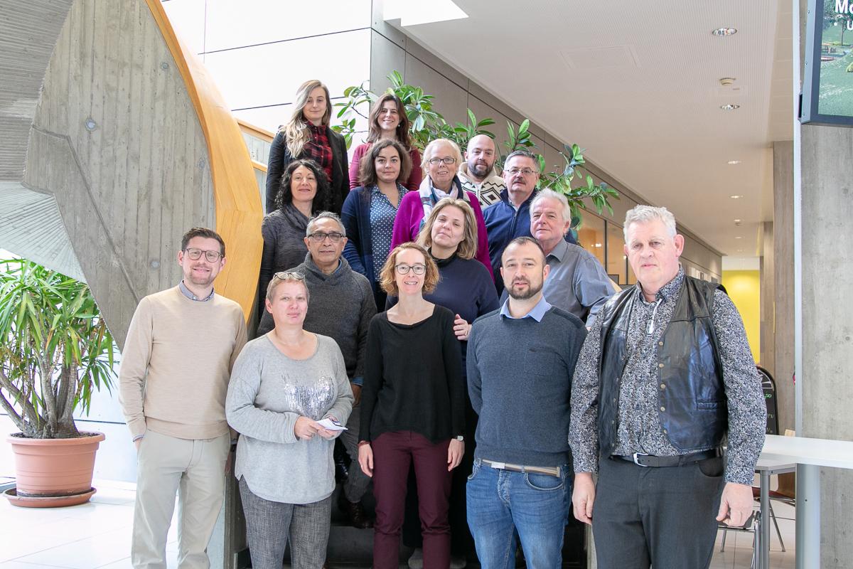 Die Projektteilnehmerinnen und –teilnehmer von DivCap.