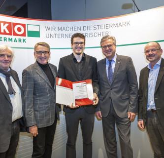 WKO-Forschungsstipendium für Christian Wrulich