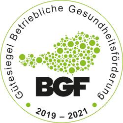 Logo des BGF-Gütesiegels.