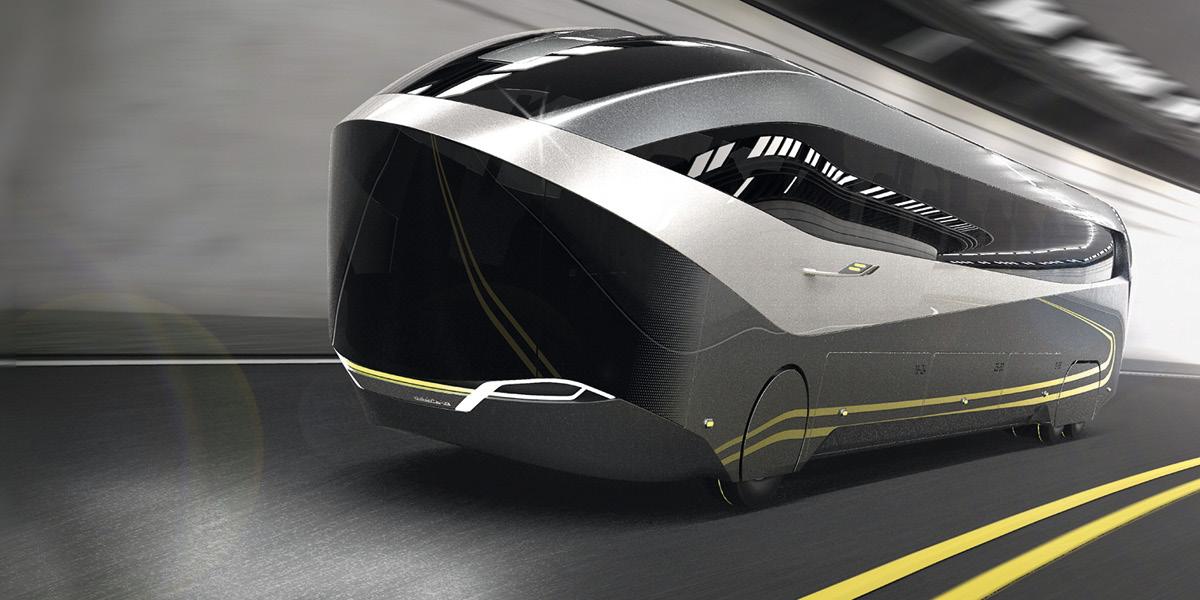NEOPLAN A24-7 AERO / Bus concept » FH JOANNEUM