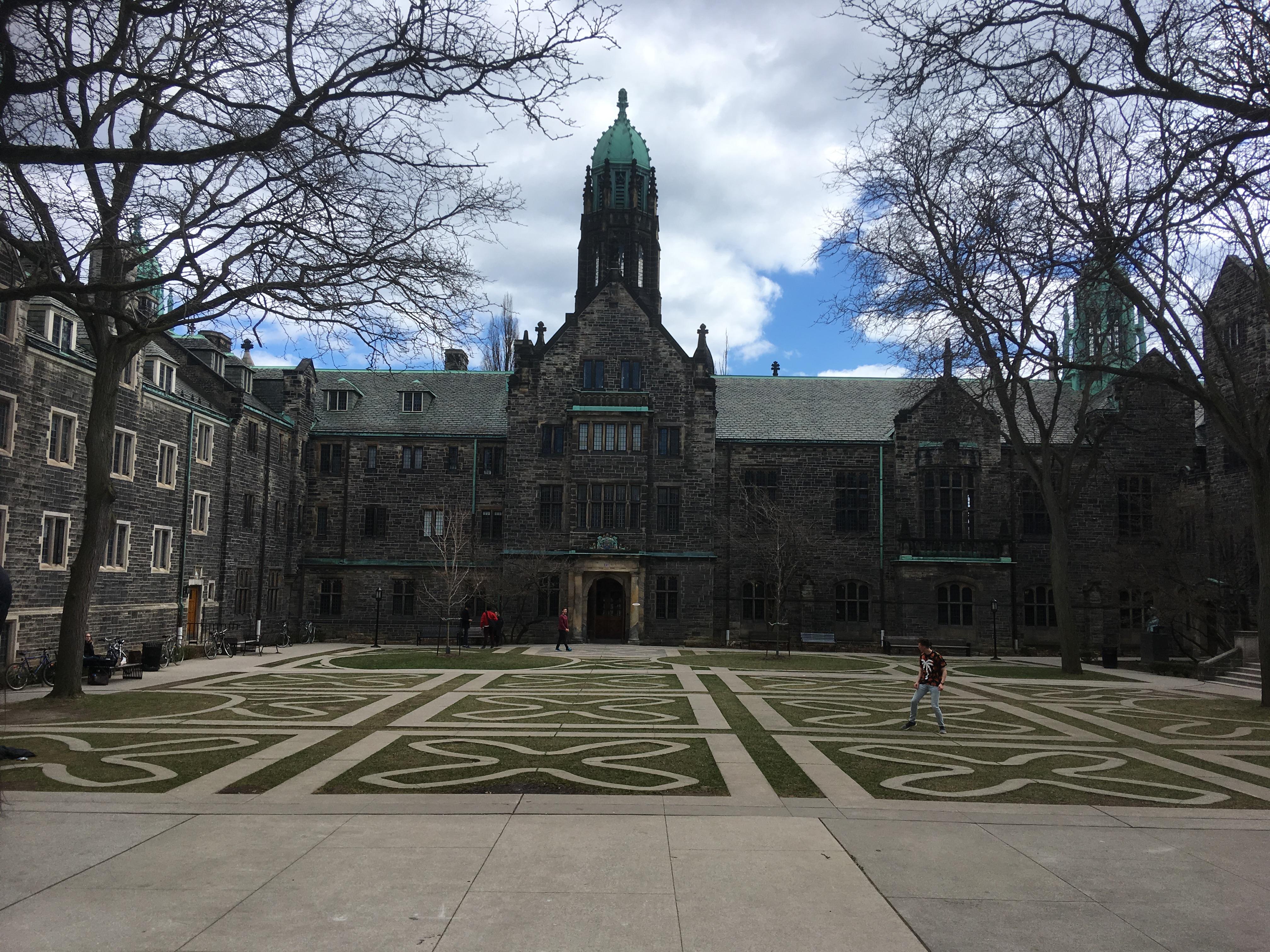 Blick auf den Campus der University of Toronto.