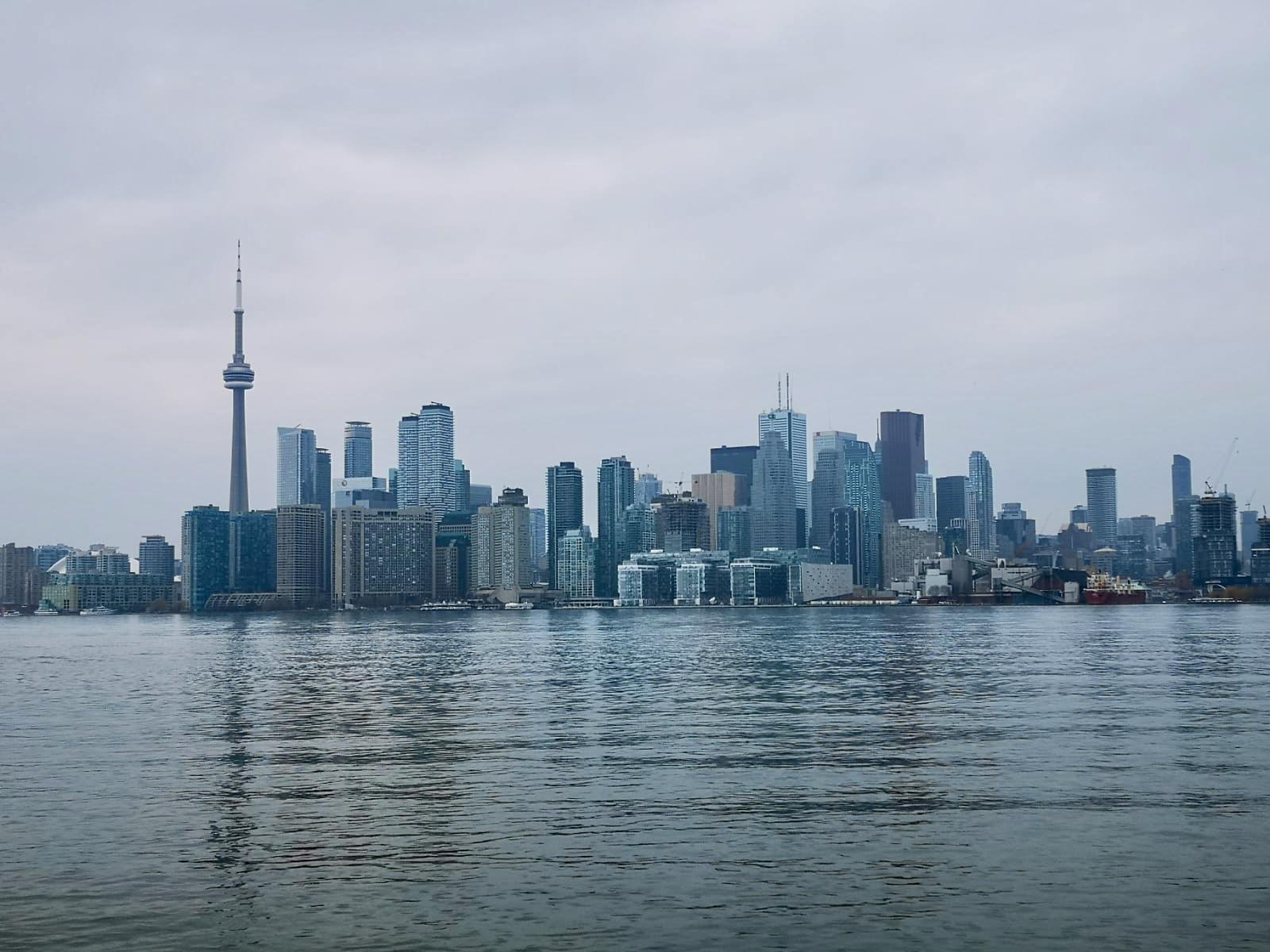 Blick auf die Stadt Toronto