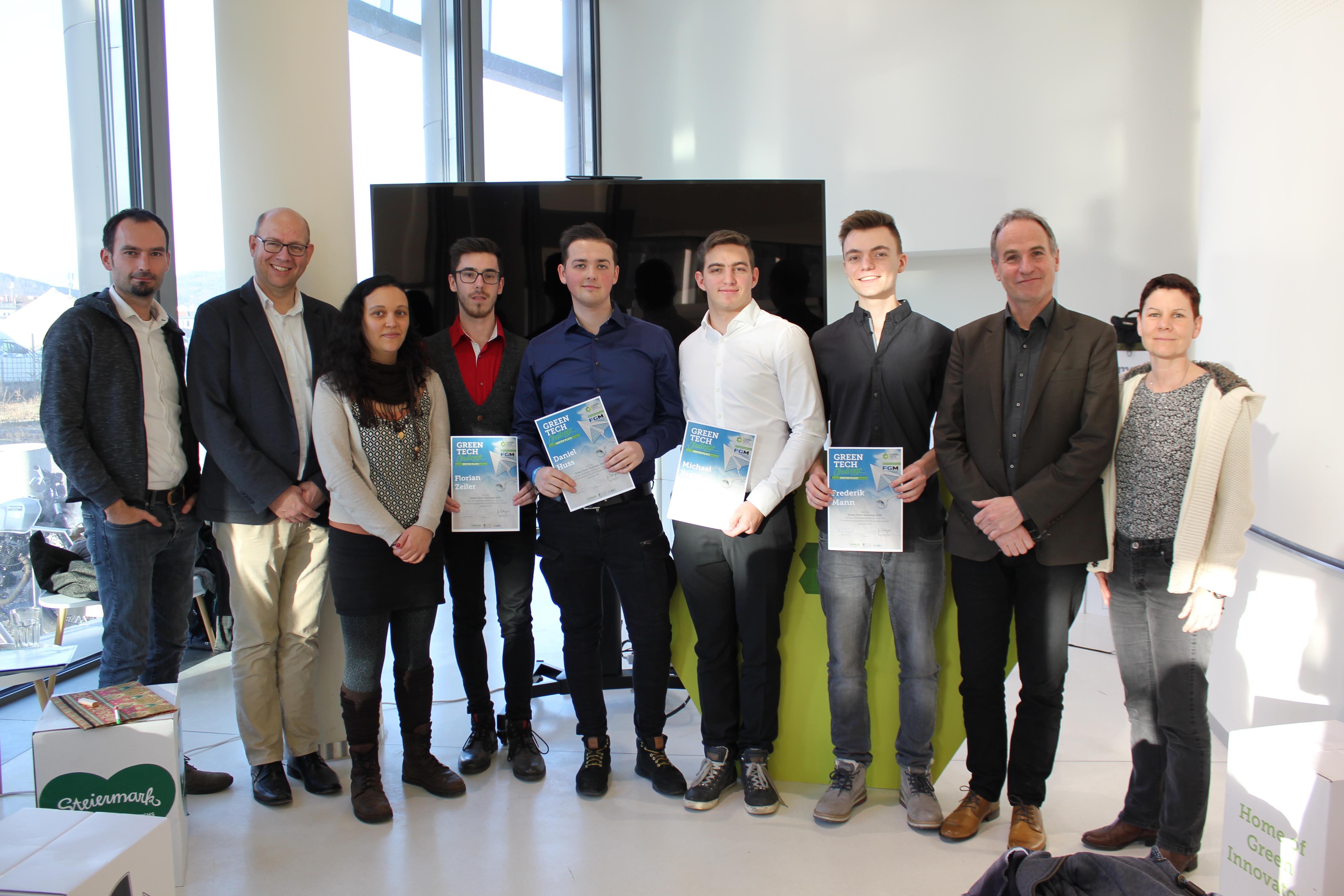 Green Tech Siegerteam 2020